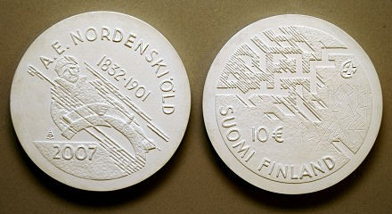 10 Euro Gedenkmünze Finnland Nordenkiöld 2007
