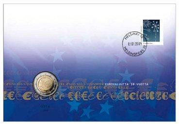 2 Euro 2009 Numisbrief Rahapaja Finnland
