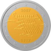 2 Euro Gedenkmünze Unabhängigkeit Finnlands