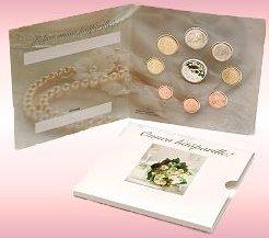Hochzeits Kursmünzensatz Finnland 2007