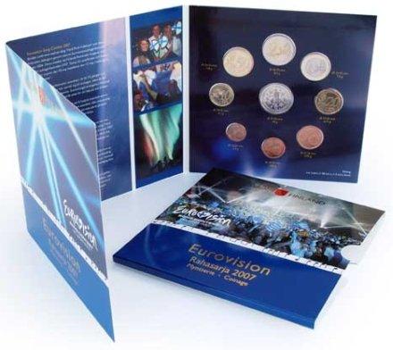 Eurovision Kursmünzensatz Finnland 2007