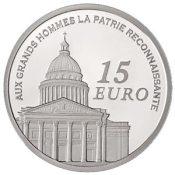 15 Euro Gedenkmünze aus Frankreich Kursmünzensatz 2007