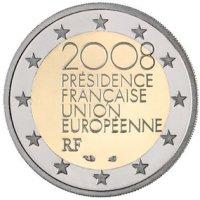 2 Euro Gedenkmünze Frankreich 2008