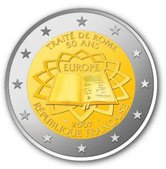 2 Euro Gedenkmünze Frankreich 2007