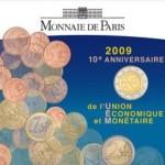 2 Euro WWU Frankreich Münzkarte