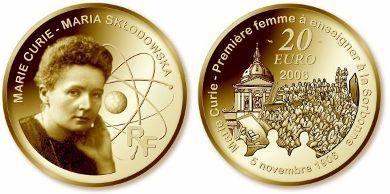 20 Euro Goldmünze Marie Curie - Frankreich 2006