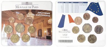 Frankreich Kursmünzensatz