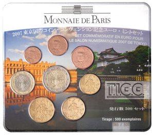 Kursmünzensatz Tokio