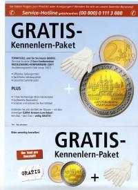 Angebot 2 Euro Gedenkmünze 2007