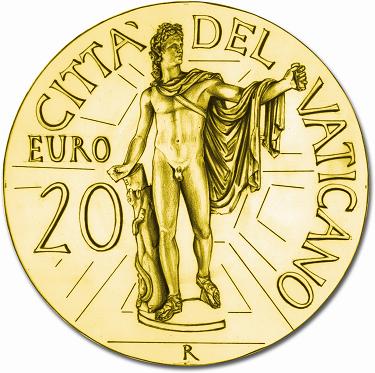 20 Euro Gold 2010 Vatikan