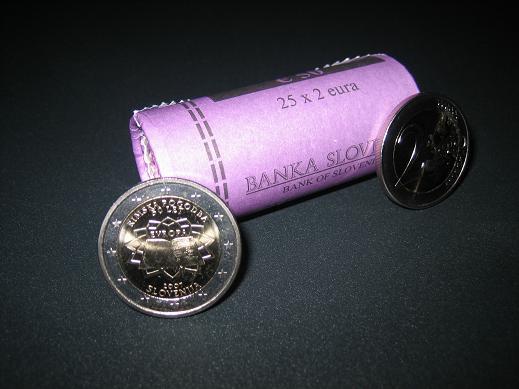 Rimska Pogodba Rolle + Einzelmünzen