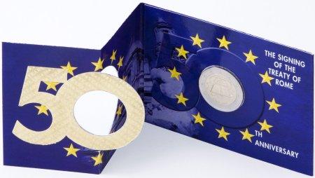 2 Euro Blister Römische Verträge aus Irland