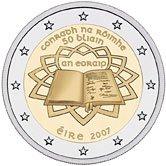 2 Euro Römische Verträge Irland 2007