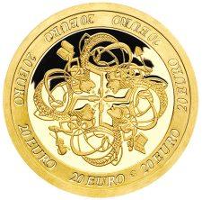 20 Euro Goldmünze 2007 aus Irland