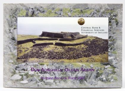 Irland Kursmünzensatz 2007