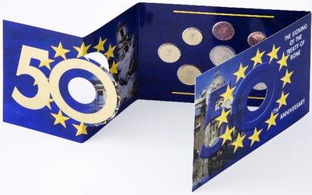 Kursmünzensatz Römische Verträge Irland