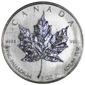 Maple Leaf Palladiummünze