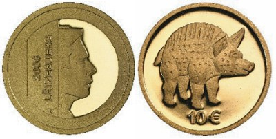 10 Euro Goldmünze Luxemburg 2006