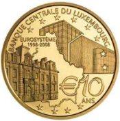 10 Euro Goldmünze: 10 Jahre BCL
