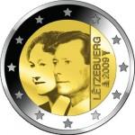 2 Euro Münze Charlotte Luxemburg