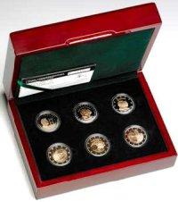 2 Euro Gedenkmünzen PP-Set