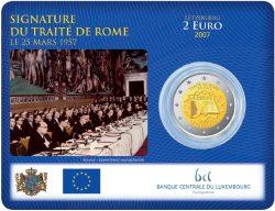 Coinard 2 Euro Münze Römische Verträge