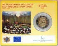 2 Euro WWU Coincard Luxemburg