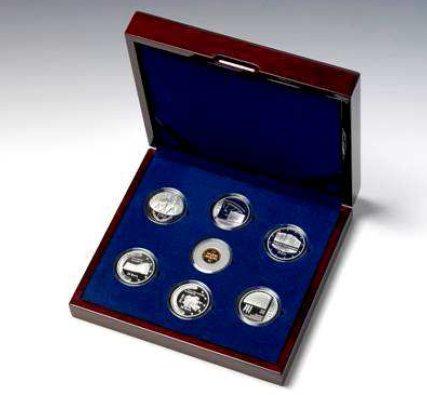 Gedenkmünzen-Set Europäische Institutionen