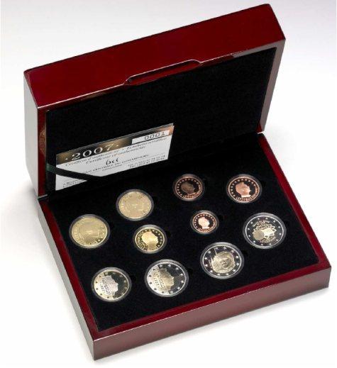 PP Kursmünzensatz 2007 Luxemburg