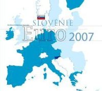 Slowenien Kursmünzensatz 2007 aus Luxemburg
