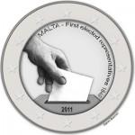 2 Euro Sondermünze Malta 2011