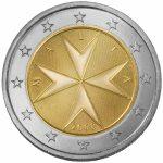 2 Euro Münzen von Malta