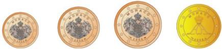 Monaco Cent Münzen 2006