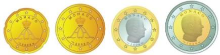 Monaco Euro Münzen 2006