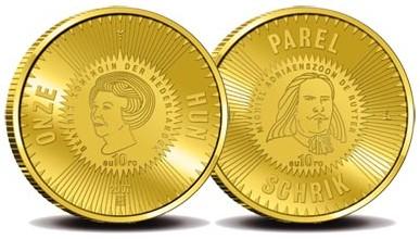 10 Euro Goldmünze Michiel deRuyter 2007