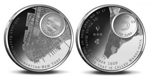 Manhattan Gedenkmünzen der Niederlande