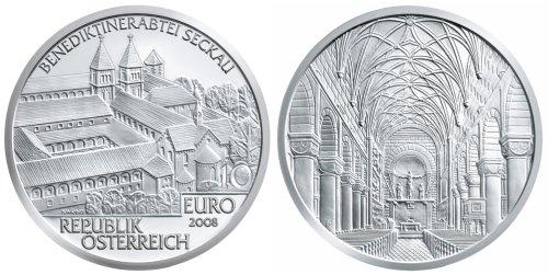 10 Euro Münze Abtei Seckau