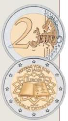 2 Euro Gemeinschaftsausgabe Römische Verträge Österreich