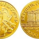 20 Unzen Philharmoniker Goldmünze