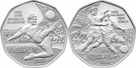 Fussballmünzen Österreich