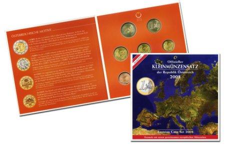 Kursmünzensatz Österreich 2008
