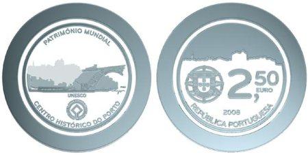 2,5 Euro Gedenkmünze Porto