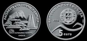 5 Euro Münze Sintra Portugal 2006