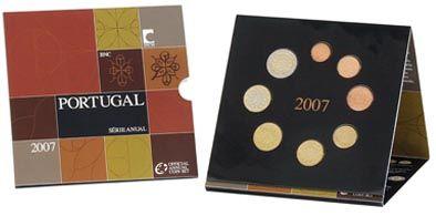 Portugal Kursmünzensatz 2007