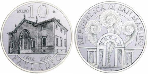 10 Euro Gedenkmünze Andrea Palladio