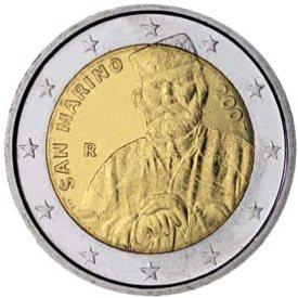 2 Euro Gedenkmünze Garibaldi aus San Marino