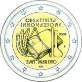 2 Euro Gedenkmünze San Marino 2009