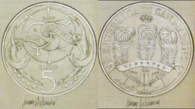 5 Euro Chancengleichheit San Marino 2007