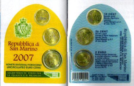 San Marino Minikit 2007