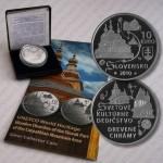 10 Euro Gedenkmünze Holzkirchen Slowakei